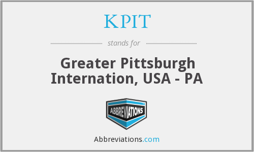 KPIT - Greater Pittsburgh Internation, USA - PA