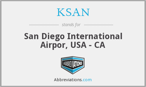 What does KSAN stand for?