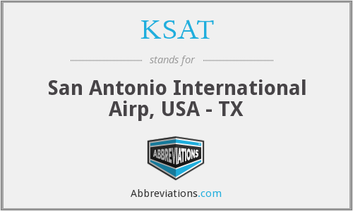 KSAT - San Antonio International Airp, USA - TX