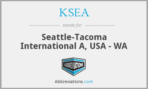 KSEA - Seattle-Tacoma International A, USA - WA
