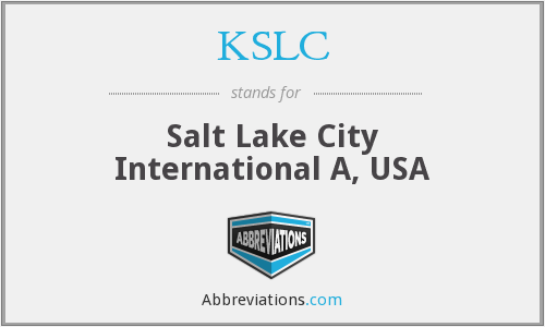 What does KSLC stand for?
