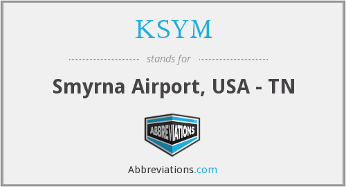 KSYM - Smyrna Airport, USA - TN