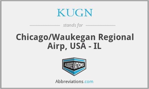 KUGN - Chicago/Waukegan Regional Airp, USA - IL
