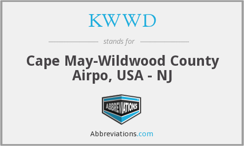 KWWD - Cape May-Wildwood County Airpo, USA - NJ