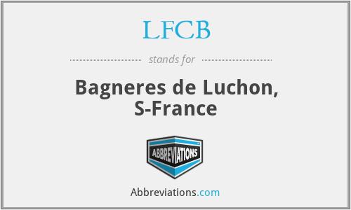 LFCB - Bagneres de Luchon, S-France