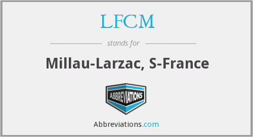What does LFCM stand for?