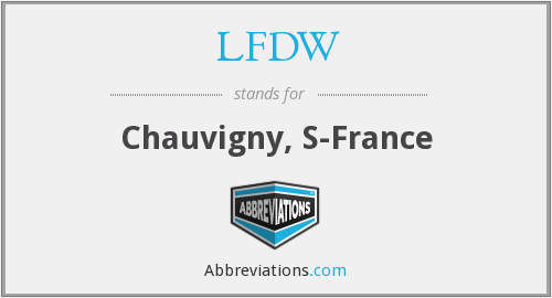 What does LFDW stand for?