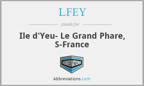 What does LFEY stand for?
