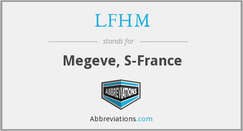 What does LFHM stand for?