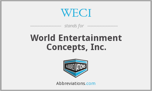 What does WECI stand for?