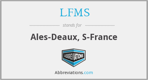 What does LFMS stand for?