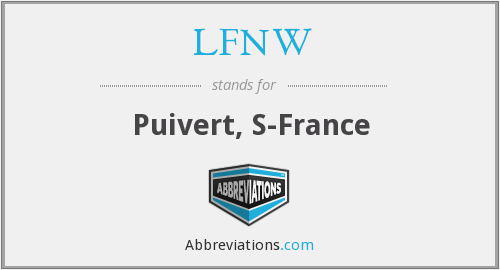 What does LFNW stand for?