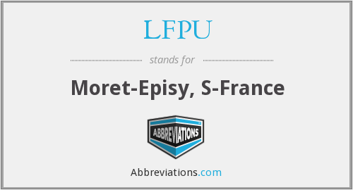 What does LFPU stand for?