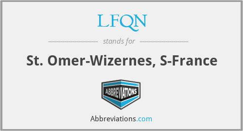 LFQN - St. Omer-Wizernes, S-France