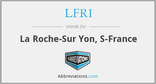 What does LFRI stand for?