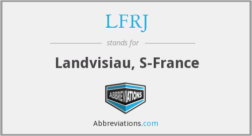What does LFRJ stand for?