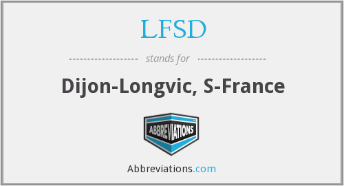 LFSD - Dijon-Longvic, S-France