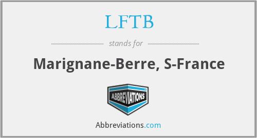 LFTB - Marignane-Berre, S-France