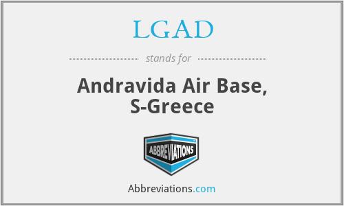 LGAD - Andravida Air Base, S-Greece