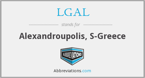 What does LGAL stand for?