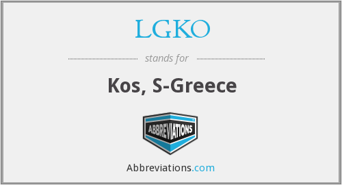 What does LGKO stand for?