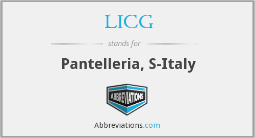 What does LICG stand for?