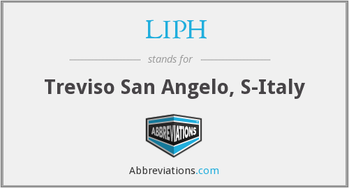 What does LIPH stand for?