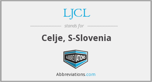 What does LJCL stand for?