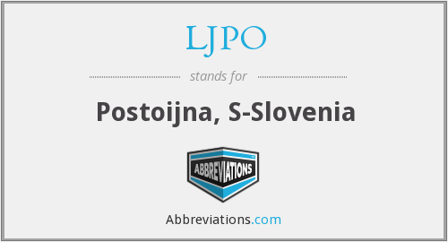 What does LJPO stand for?