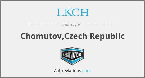 LKCH - Chomutov,Czech Republic