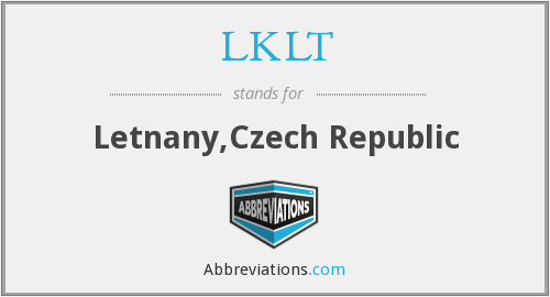 What does LKLT stand for?