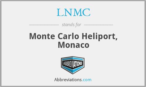 LNMC - Monte Carlo Heliport, Monaco