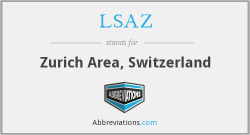 What does LSAZ stand for?