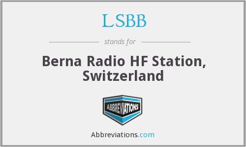 LSBB - Berna Radio HF Station, Switzerland