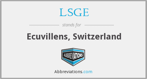 What does LSGE stand for?