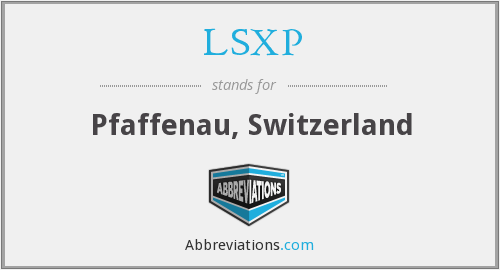 What does LSXP stand for?