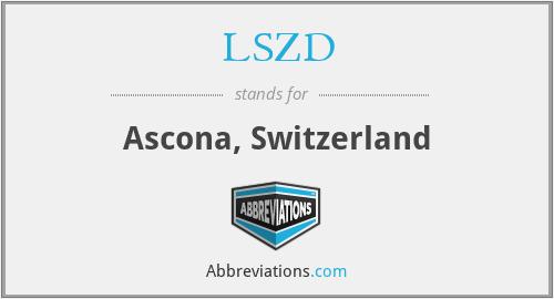 LSZD - Ascona, Switzerland