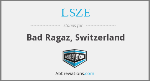 What does LSZE stand for?