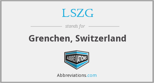 What does LSZG stand for?