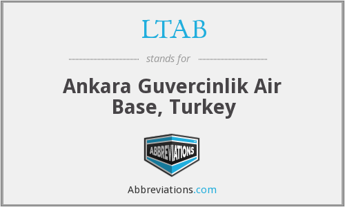 LTAB - Ankara Guvercinlik Air Base, Turkey