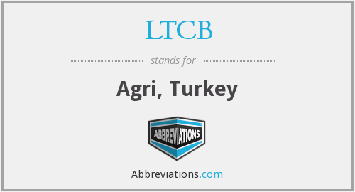 LTCB - Agri, Turkey