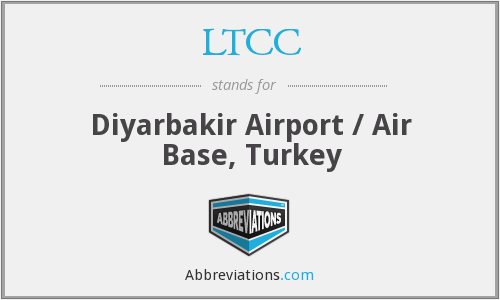 LTCC - Diyarbakir Airport / Air Base, Turkey