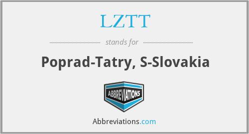 LZTT - Poprad-Tatry, S-Slovakia
