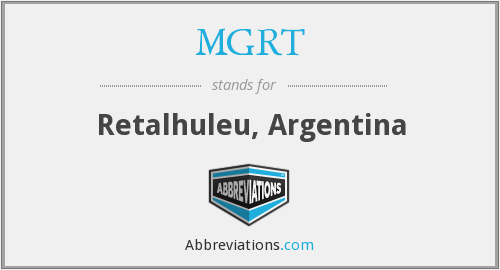 What does MGRT stand for?