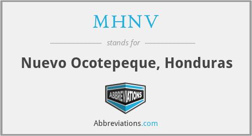 MHNV - Nuevo Ocotepeque, Honduras