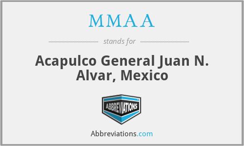 MMAA - Acapulco General Juan N. Alvar, Mexico