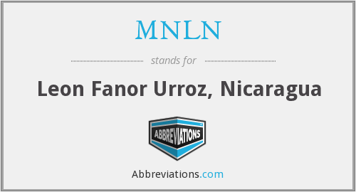 What does MNLN stand for?