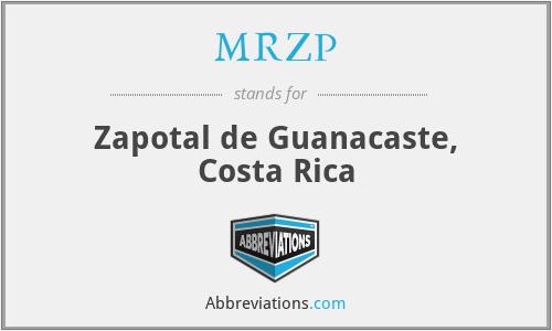 MRZP - Zapotal de Guanacaste, Costa Rica