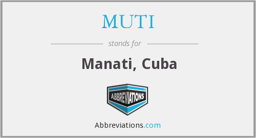 What does MUTI stand for?