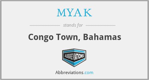 MYAK - Congo Town, Bahamas